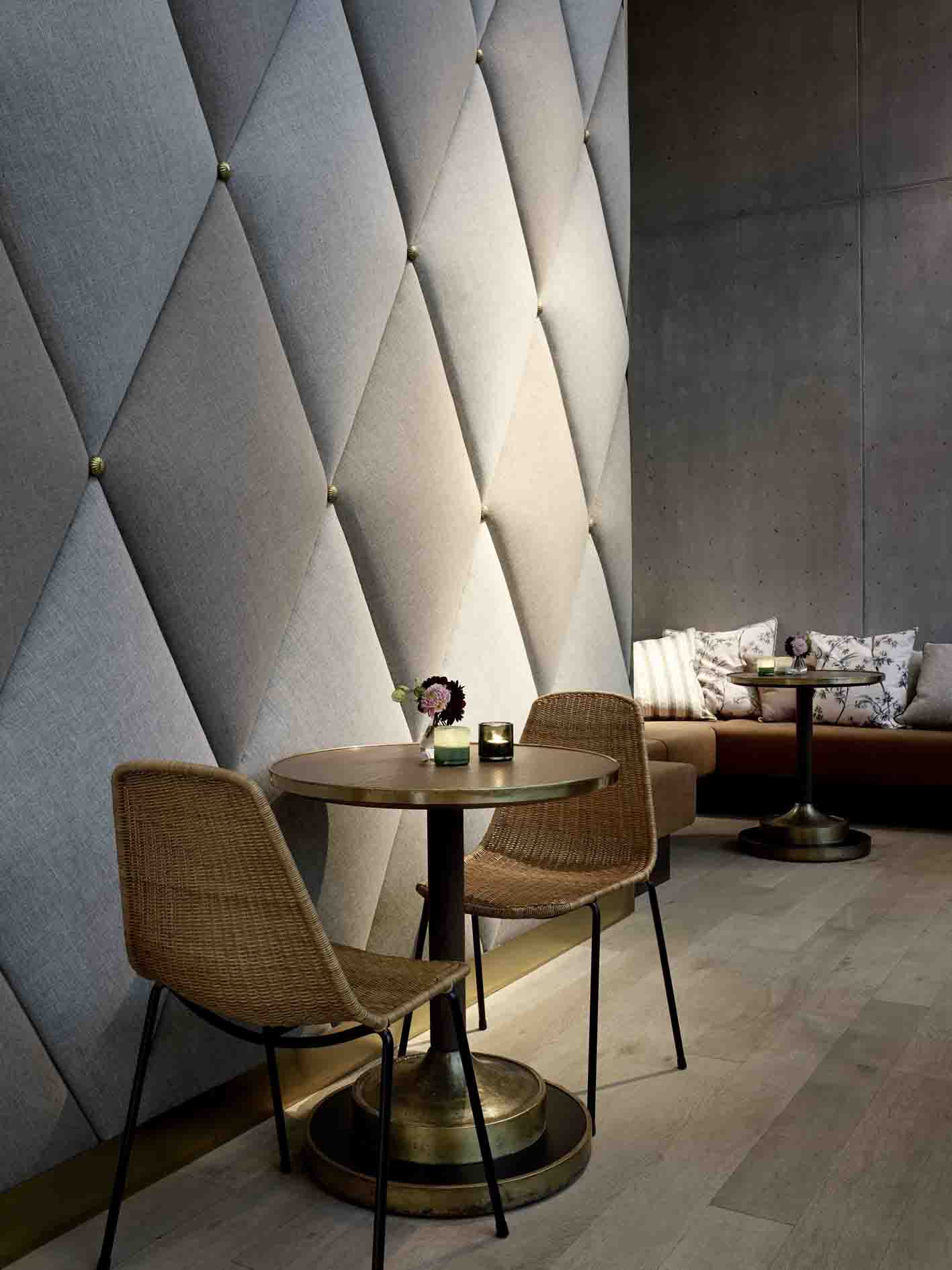 Beleuchtung im Restaurant Bebek, Kaffeehaus Atmosphäre