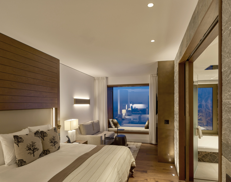 Standard-Suite, Lichtstimmung Hotelzimmer
