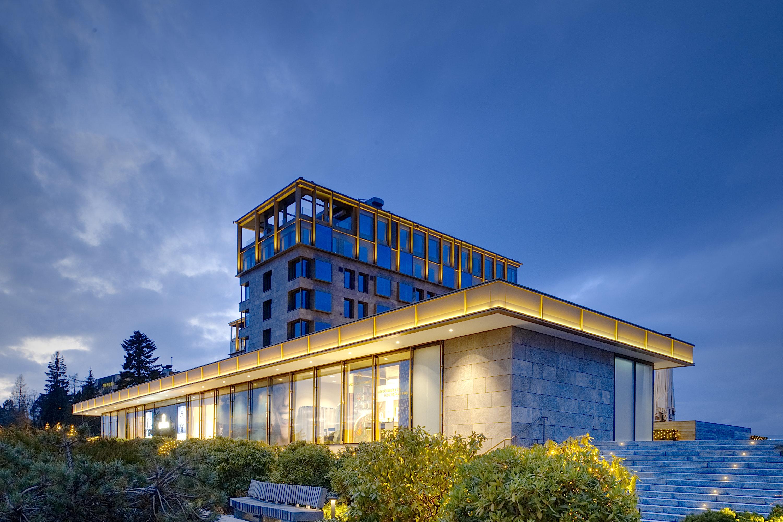 Fassadenbeleuchtung Bürgenstock