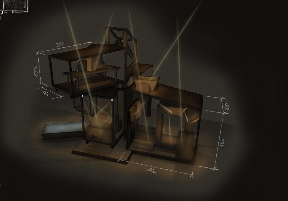 Lichtkonzept Ausstellungsbeleuchtung
